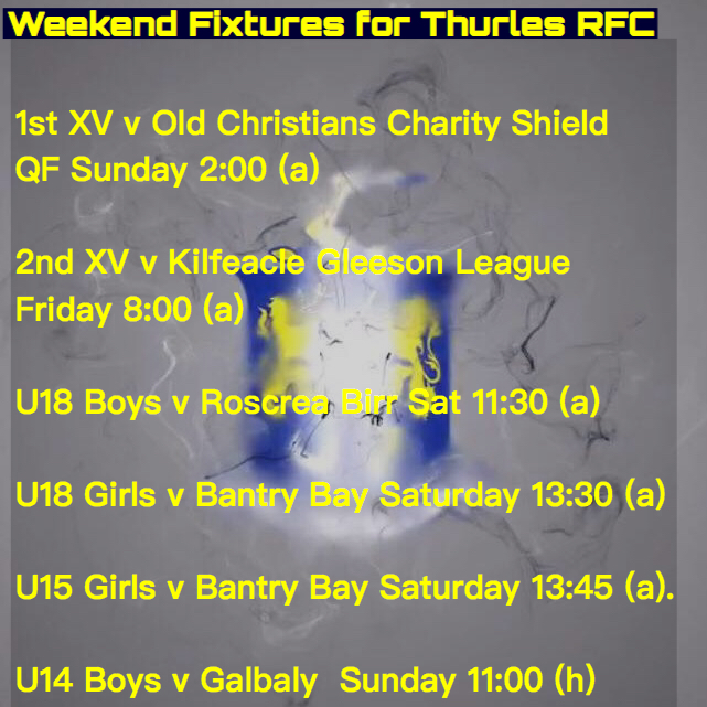 Weekend Fixtures for 17 Nov 2017