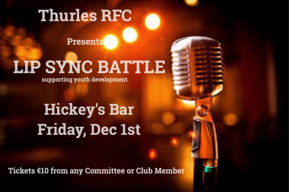 Lip Sync Battle. Dec 1st, Hickeys Bar