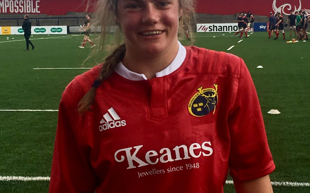 Christine wins first ever, Women's Senior Cap for Munster